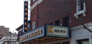 harper theatre website